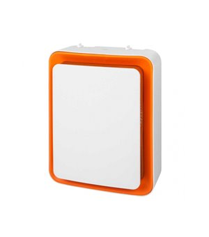 Vertikaler Heizkörper S&P TL32 1800W Weiß Orange