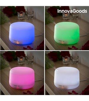 InnovaGoods mehrfarbiger LED Luftbefeuchter mit Duftzerstäuber