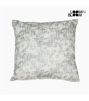 Kissen (60 x 60 cm) Silberfarben