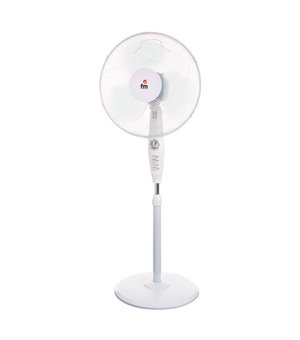 Freistehender Ventilator Grupo FM P40 45W Weiß