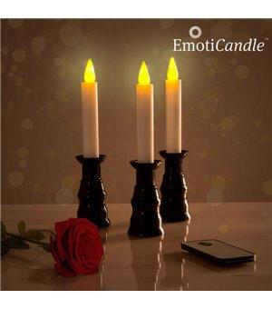 EmotiCandle LED-Kerzen für romantisches Ambiente (3er Pack)