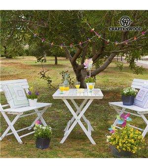 Tisch-Set mit 2 Stühlen...