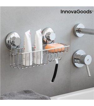 InnovaGoods Duschablage mit Extra-Starken Saugnäpfen