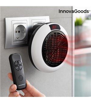 InnovaGoods Elektrischer Keramikheizer mit Fernbedienung 600W