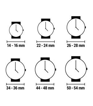 Unisex-Uhr naak 24-32 (38 mm)