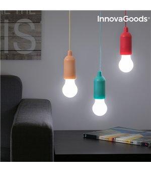 InnovaGoods Tragbare LED Glühbirne mit Schnur