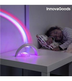 InnovaGoods Regenbogen LED Projektor für Kinder