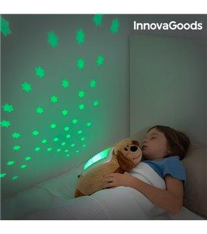 InnovaGoods Kuscheltier mit Projektor