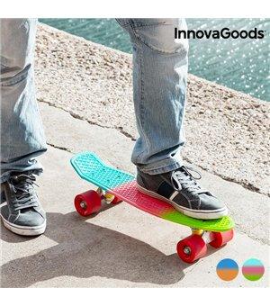 InnovaGoods Mini Cruiser Skateboard (4 Rollen)