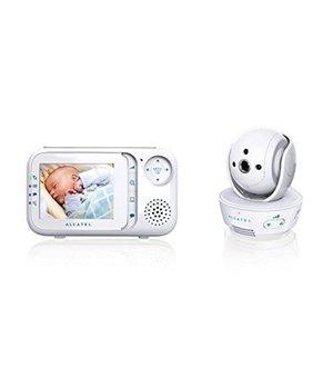 """Babyphone mit Kamera Alcatel Baby Link 710 2,8"""" LCD PURESOUND Weiß"""