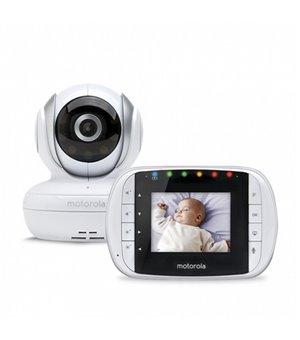 """Babyphone mit Kamera Motorola 223419 2,8"""" 2.4GHz Weiß"""