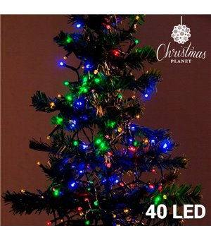 Weihnachtslichterkette (40 LED)