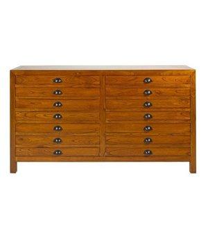 Anrichte Holz (160 x 40 x 90 cm)