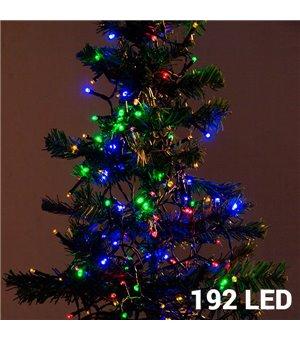 Mehrfarbige Weihnachtslichterkette (192 LED)