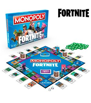 Fortnite Monopoly Hasbro