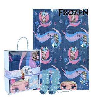 Decke, Socken und Augenmaske Frozen 79469