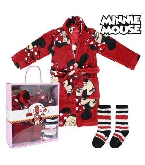 Kinder-Morgenmantel und Socken Minnie Mouse 73636