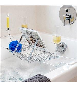 Badewannenhalter aus Metall für Accessoires