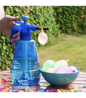 Wasserballons mit Aufblasvorrichtung Xl (100Er pack)