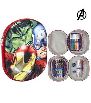 Dreifaches Federmäppchen The Avengers 78889
