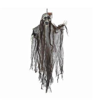 Hängendes Skelett (90 cm) Grau