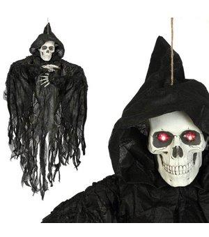 Hängendes Skelett (115 x 75 cm) Schwarz Leicht
