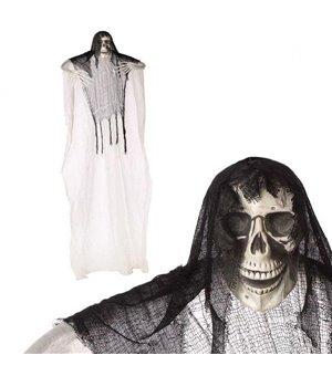 Hängendes Skelett Xl (210 x 190 cm) Weiß