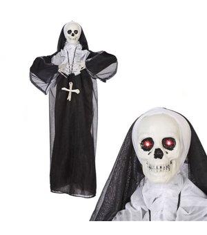 Hängendes Skelett (86 x 75 cm) Nonne Sound