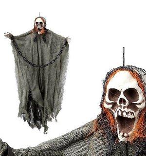 Hängendes Skelett (62 x 33 cm) Kette