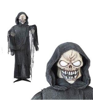 Hängendes Skelett (170 x 145 cm)