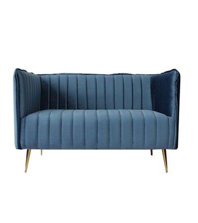 Zweisitzer-Sofa Art Deco Lines (126 x 73 x 78 cm)