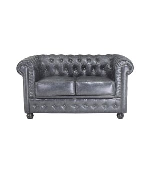 Chesterfield Sofa 2-Sitzer (140 x 80 x 72 cm)