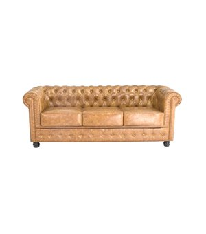 Chesterfield Sofa 3-Sitzer (200 x 80 x 72 cm)
