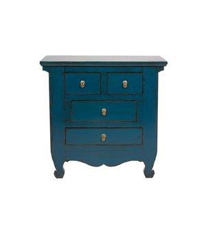 Konsole Blue Oriental (90 x 88 x 40 cm)