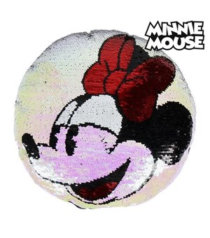 Pailletten Magic Mermaid Kissen Minnie Mouse 74491 (30 X 30 cm)