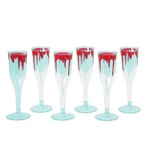 Gläser Bloody (6 pcs) Kunststoff