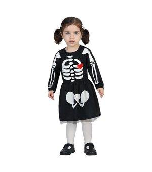 Verkleidung für Babys Skelett (24 Monate)