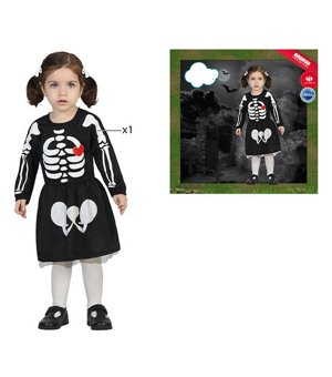 Skelett Baby Mädchen (24...