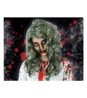 Halloween Perücke Grau