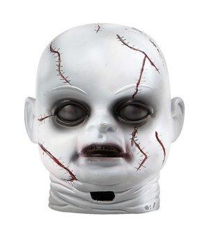 Lampe Halloween Zombie Weiß
