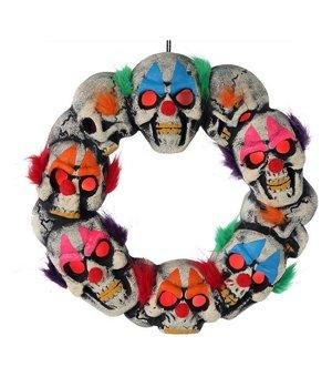 Krone Halloween Böser clown