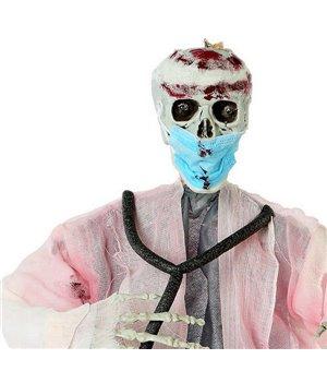 Hängendes Skelett Blutiger arzt (90 Cm)