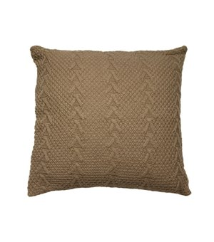 Kissen Stitch Braun (45 X 45 x 10 cm)