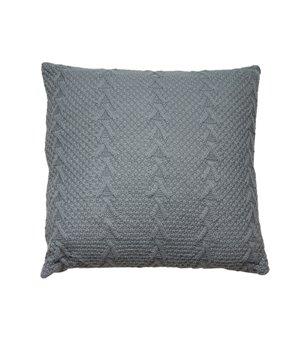 Kissen Stitch Grau (45 X 45 x 10 cm)