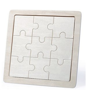 Personalisierbares Holzpuzzle (9 pcs) 145719