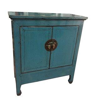 Konsole Blue Oriental (100 x 89 x 42 cm)