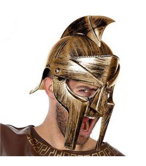 Römischer Helm Gladiator Golden