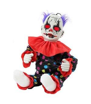Dekoration zum Aufhängen Böser clown (55 Cm)