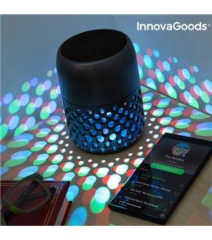 InnovaGoods Mandalamp Wiederaufladbare LED Lampe mit Bluetooth Lautsprecher