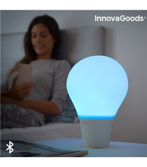 Silitone Silikon-LED-Touchlampe mit Lautsprecher